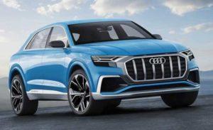 Внешний вид Audi Q8