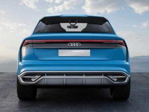 Экстерьер Audi Q8