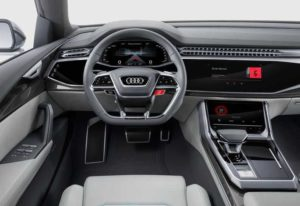 Интерьер Audi Q8
