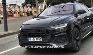 Испытания серийной версии Audi Q8 в Москве