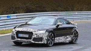 Рестайлинговая версия Audi TT RS