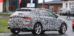 Будущий кроссовер Audi SQ3 проходит дорожные тесты