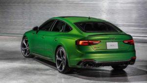 Внешний вид Audi RS5 Sportback 2019