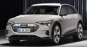 Новый кроссовер Audi e-tron 2019