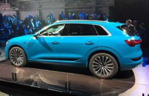 Электромобиль Audi e-tron 2019
