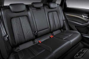 Задний ряд сидений Audi e-tron 2019