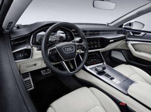 Audi на первом месте в области подключения и дизайна интерьера