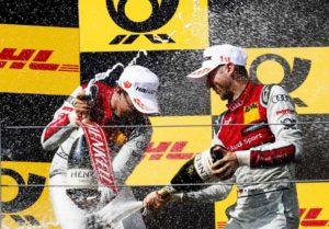 Audi празднует сотую победу в DTM