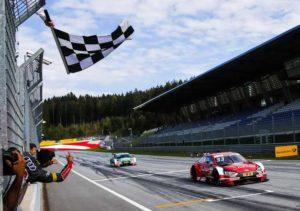 Компания Audi празднует сотую победу в DTM на Red Bull Ring в Австрии