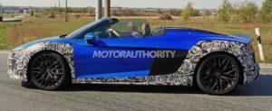 Будущий автомобиль Audi R8 Spyder