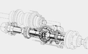 Дифференциал Audi Quattro