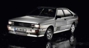 Внешний вид Audi Quattro