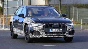 В сети появились фотографии будущего Audi A6 Allroad