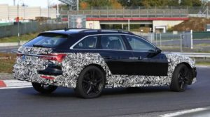 Audi A6 Allroad на тестах