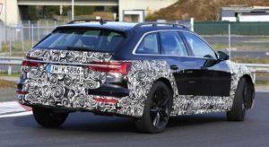 Audi A6 Allroad на дорожных тестах