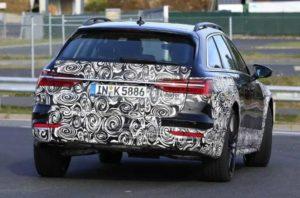 Будущий кросс-универсал Audi A6 Allroad