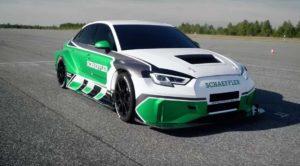 На электромобиле Audi RS3 был установлен мировой рекорд
