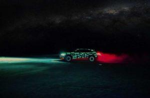 Тестирование Audi e-tron прошло в Намибии