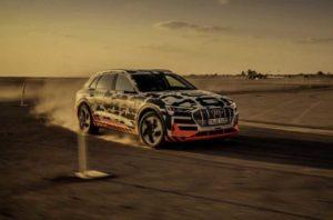 Audi e-tron тестировали в Намибии