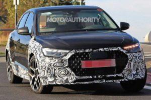 Появились шпионские снимки Audi A1 Allroad