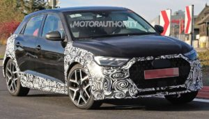 В сети появились снимки Audi A1 Allroad от фотошпионов