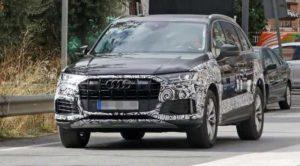 Audi тестирует обновленный кроссовер Q7