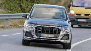 Компания Audi тестирует на дорогах общего пользования обновленную версию кроссовера Q7