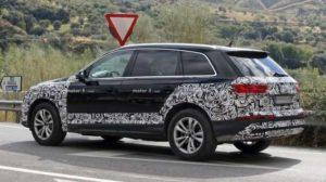 Обновленная версия Audi Q7
