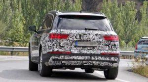 Audi тестирует обновленный Q7