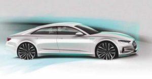 Audi e-tron GT выйдет в 2020 году
