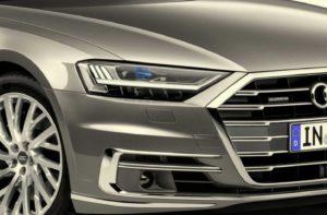 Матричные фары Audi высокой четкости
