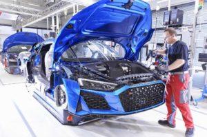 Сборка Audi R8 2019