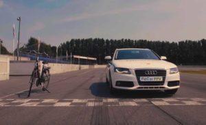 FitCar превратили Audi A4 в тренажер