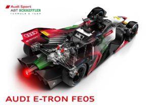 Audi показали e-tron FE05 для сезона 2018/2019 в Formula E