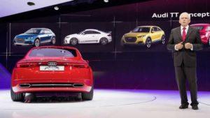 Концепт Audi TT на автосалоне в Париже