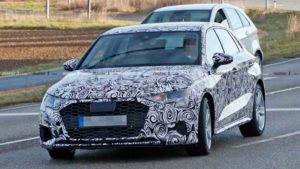 Фотошпионам удалось заснять будущий Audi S3