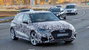 Будущий автомобиль Audi S3