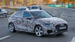 «Горячий» хэтчбек Audi S3