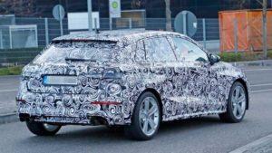 Горячий хэтчбек Audi S3