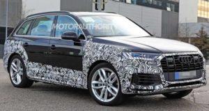Audi Q7 в камуфляже