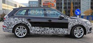 Шпионские снимки Audi Q7