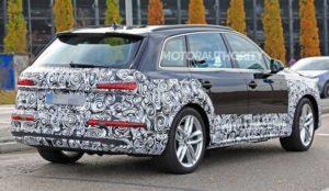 Фото обновленного Audi Q7