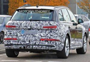 Фотографии обновленного Audi Q7