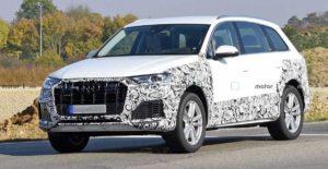 Фотошпионы подловили обновленный кроссовер Audi Q7