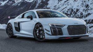 Фотосессия Audi R8 V10 Plus в Альпах
