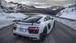 Фотосессия автомобиля Ауди R8 V10 Plus от Auditography