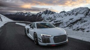 Фотосессия автомобиля Audi R8 V10 Plus от Auditography