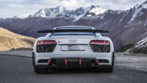 Auditography провели съемки Audi R8 V10 Plus в Альпах