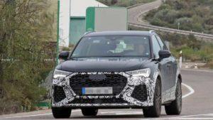 На дорогах замечен Audi RS Q3