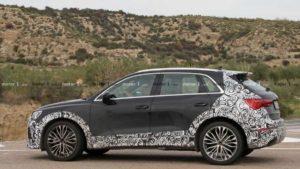 Фотографии будущего Audi RS Q3